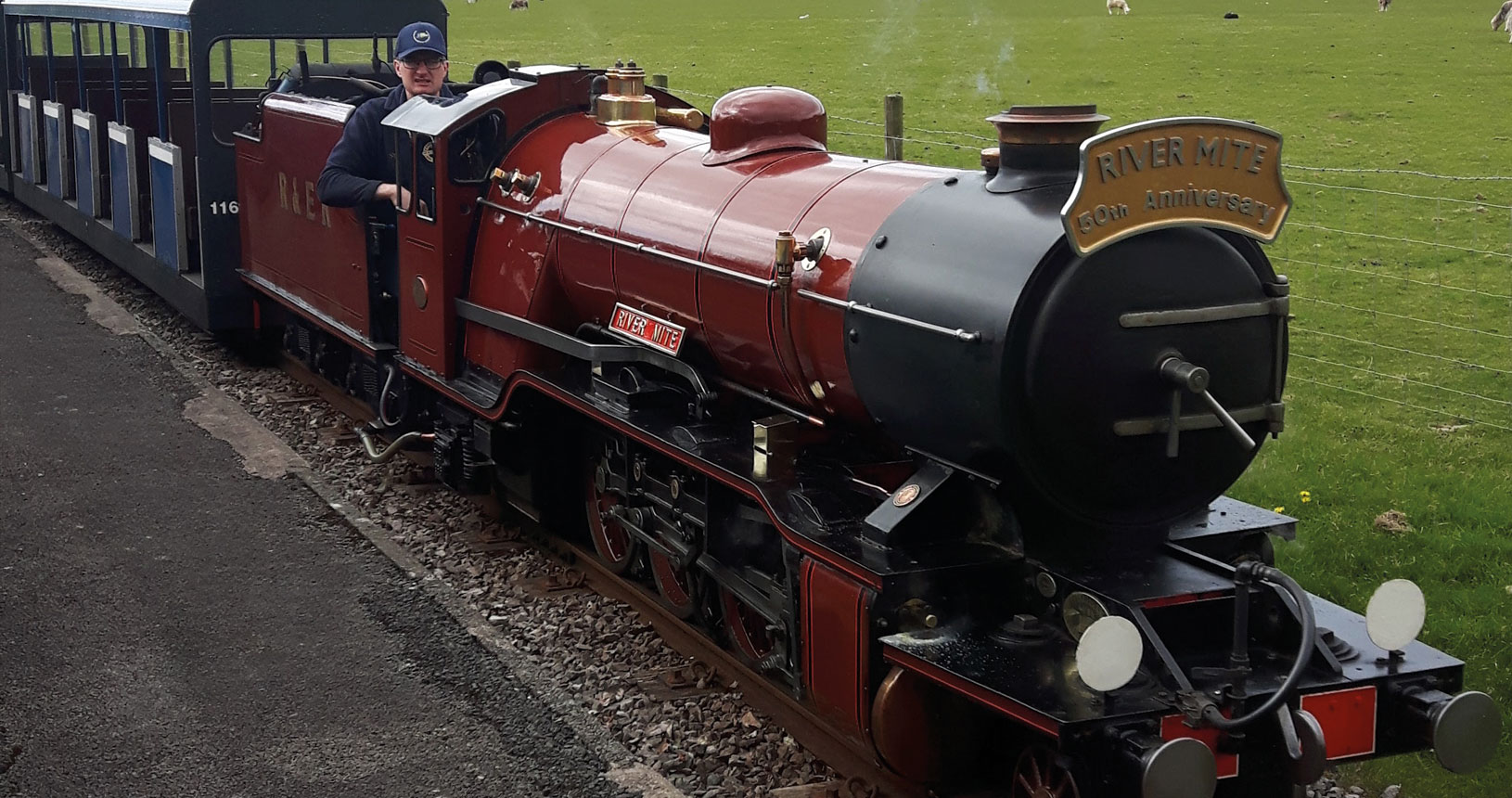 Lake District steam train