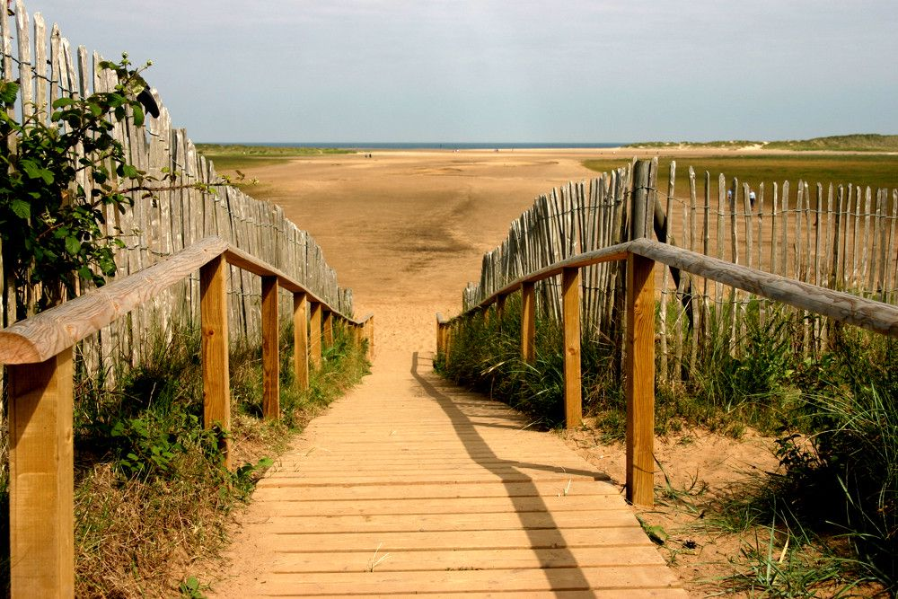 Norfolk Beach on a Supported Dementia Holiday