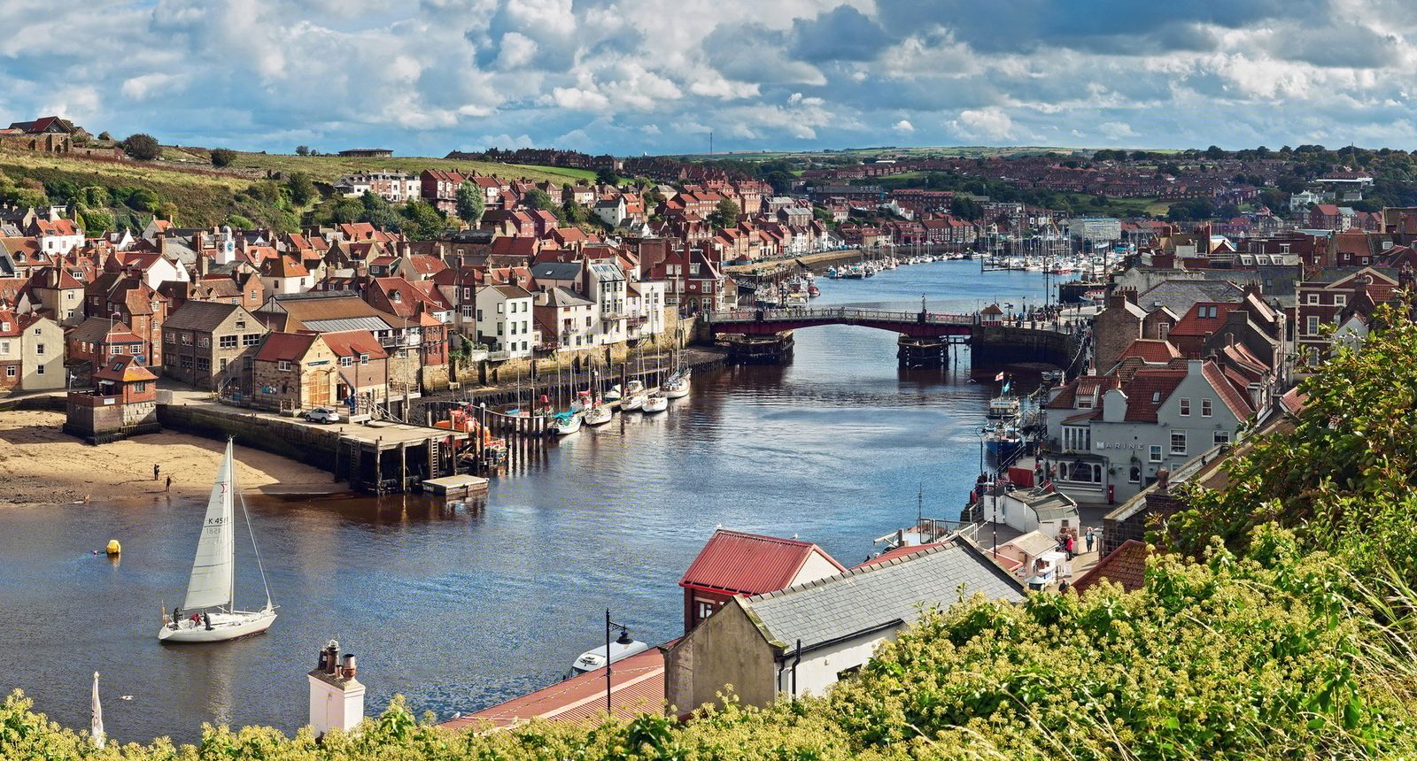 River and bridge whitby