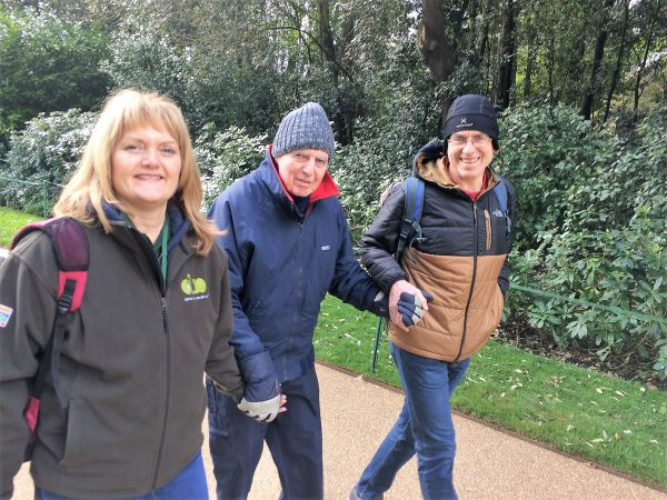 Out for a walk on a Supported Dementia Holiday