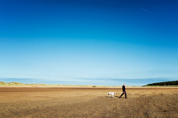 Holkham Beach Norfolk Supported Dementia Holiday