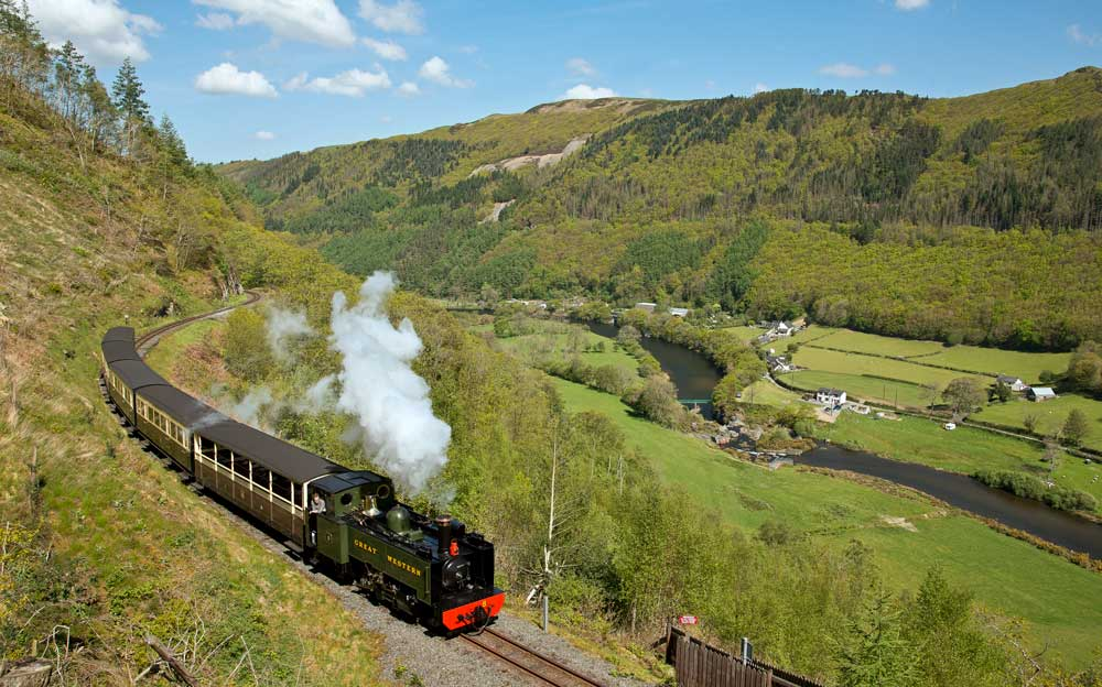 Train in Wales Supported dementia holiday