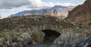 Lake District stone bridge