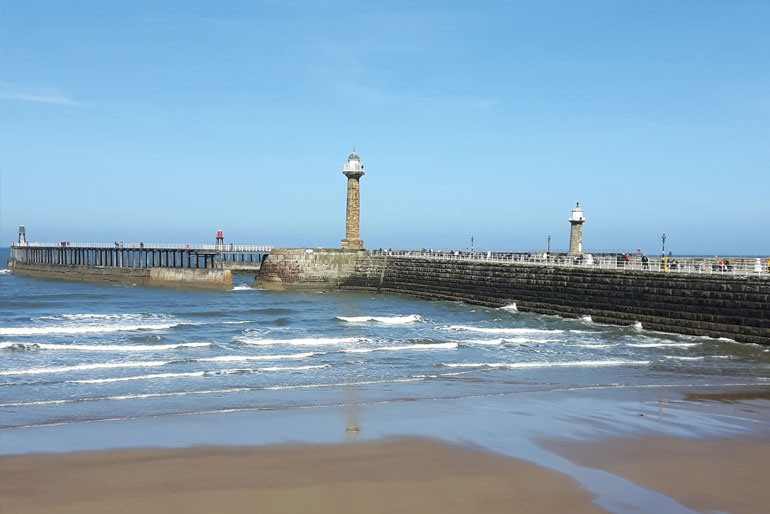 North Yorkshire pier