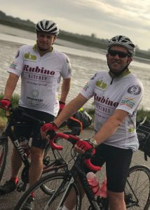 Gary & John cycling from Essex to Paris
