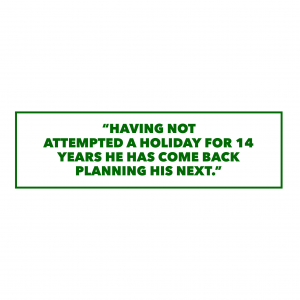 Quote from holiday client